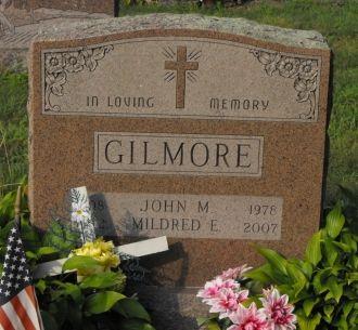Mildred E Gilmore gravesite