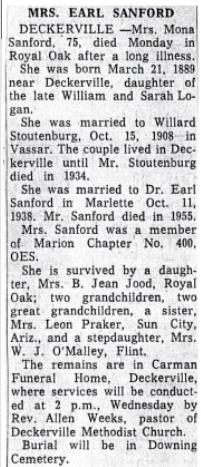 Stountenburg family