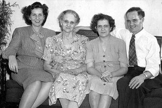 Irene (Vandiver) Nichols Family 1930