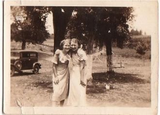 Obera Lasley and Ruth Henderson
