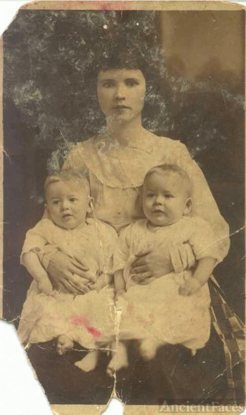 Grace Miller Matheny & James & Mason Matheny