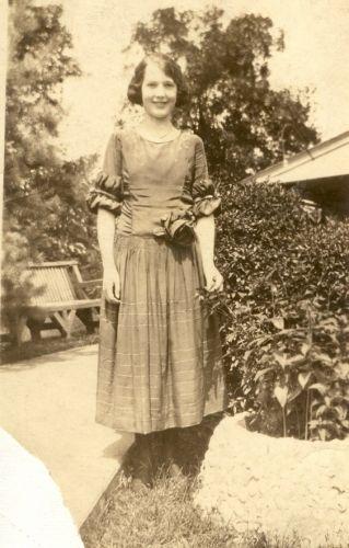 Grace Marie Weller 1923