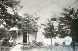 farmhouse, in or near Cedar Vale, Kansas