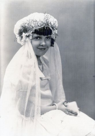 Betty Maddux First Communion