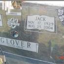 Jack Woodrow Glover & Wifes Gravestone