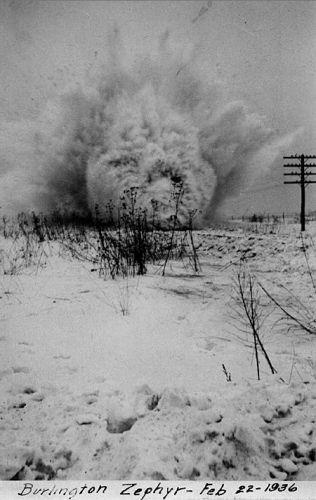 The Burlington Zephyr, 1936