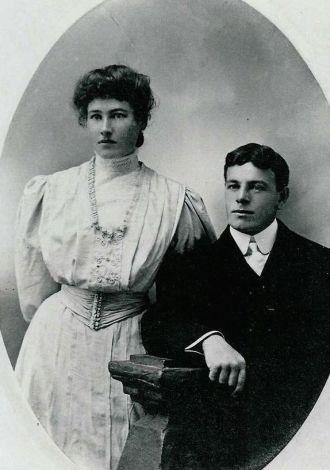 Josephine Daisy Ferlin Hunt & William J. Hunt