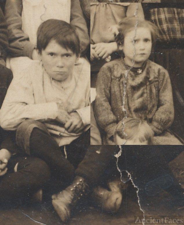 Earl and Lola Barnicle, schoolchildren