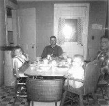 Dinner with Grandpa Zimmerman