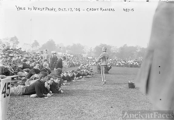 1908 Yale vs West Point football game