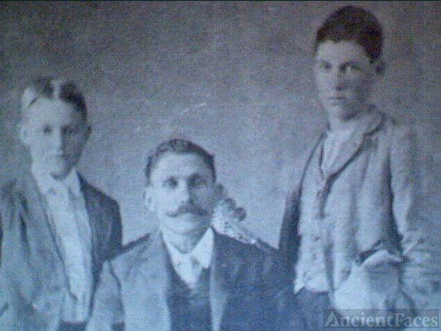 Hugh, Phineas, & John Muse, 1895