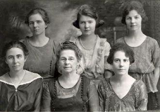 Melvina (Whitesell) Manson & Daughters