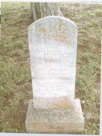 Samuel Bird Cotton Monument