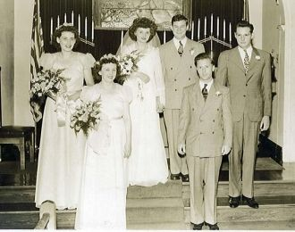 David & Marion Harrison wedding
