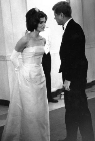 Jackie and Jack Kennedy, 1962
