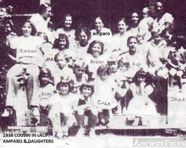 Ruiz Family Reunion 1936