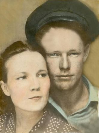 Ernest H & Virginia (Stanfield) Caton, 1940