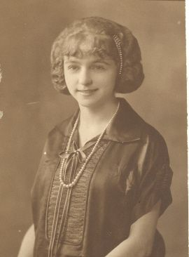 Grace Carr in her teens