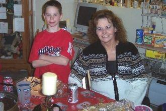 Janice Newell and Her Grandson David