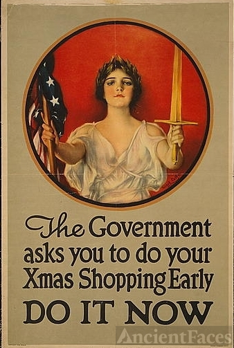 The government asks you to do your Xmas shopping...
