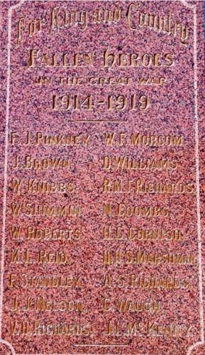 ANZAC War Memorial - WW1 & WW2
