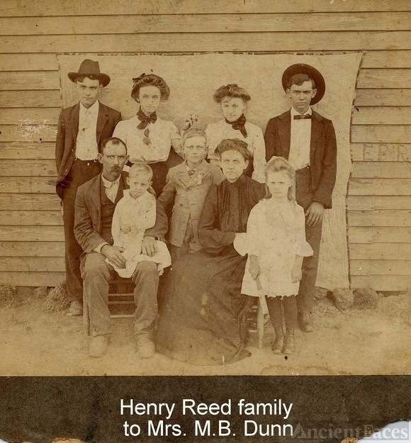 Henry Reed family