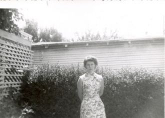 Carole Ann Nelson abt 1959