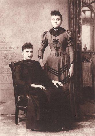 Frances and Magdalena Hensler