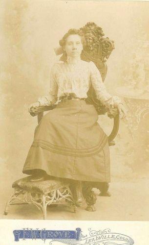 A photo of Minnie Ann Alice (Amelang) Skinner