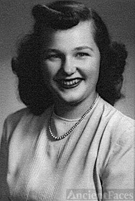 Senior Portrait Of Dolores Quinnell