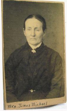 Mrs. James M. (Sarah A. Marks) Michael (4 Feb 1842-14 July 1904)