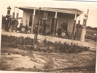 Gas Station, Sherman Texas