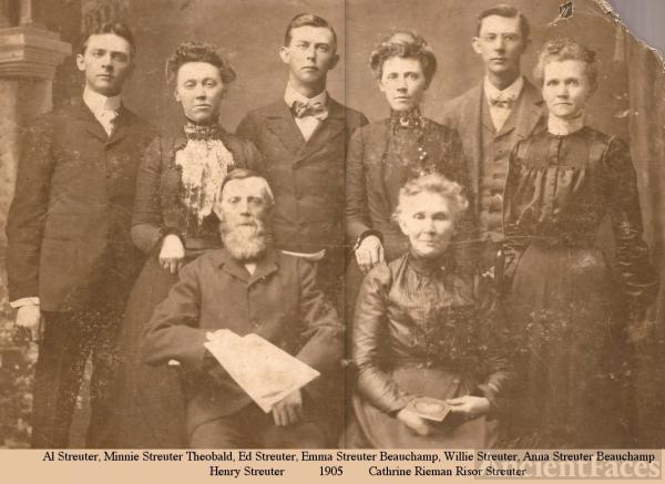 Streuter Family, Illinois