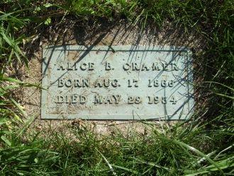 Alice Barbara Nailor gravesite
