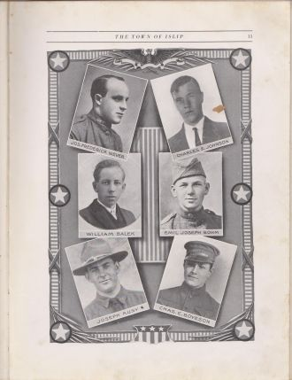 Charles Edward Boyeson, WW1 memorial