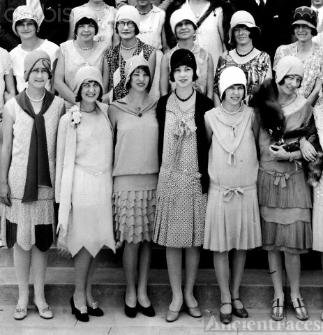 High School Flapper girls