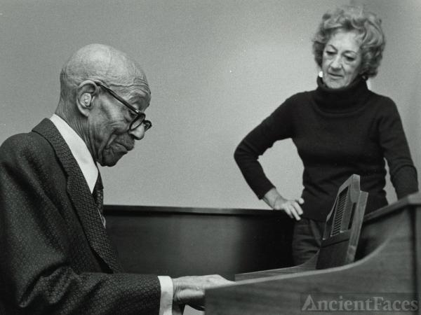Eubie Blake and Marian McPartland