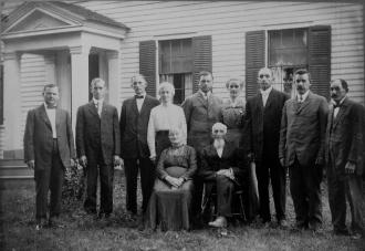 Vogt family, 1914 NY