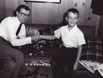 Robert Walker Sr. with Robert Walker Jr.