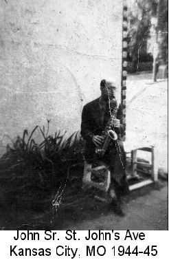 My Dad and his Saxaphone