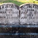Martin and Susannah (Goodner) Jackson gravesite