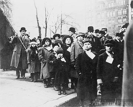 Children of Lawrence--Strikers in N.Y.