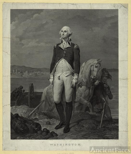 Washington / painted by Cogniet, 1836 ; engraved by...