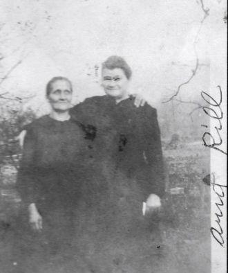 Nancy J. Heckman and sister-in-law