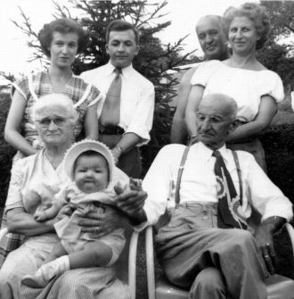 Margaret (Howell) Keister & Family, 1951