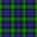 Gordon Scottish tartan