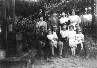 John Rickett Family, Arkansas