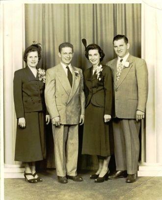 Barnett Wedding, 1950
