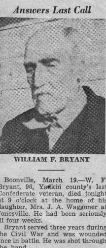 William F. Bryant obituary