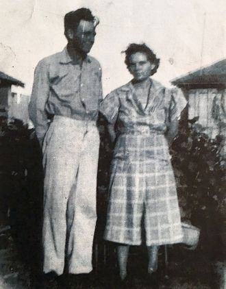 Sadie Agnes (Engledow) & Dawson Stone